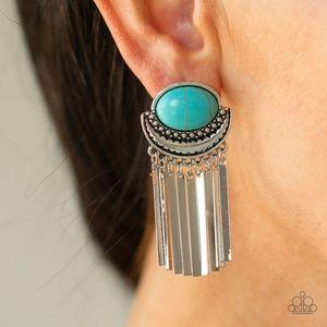Monsoon Season - Blue Earrings